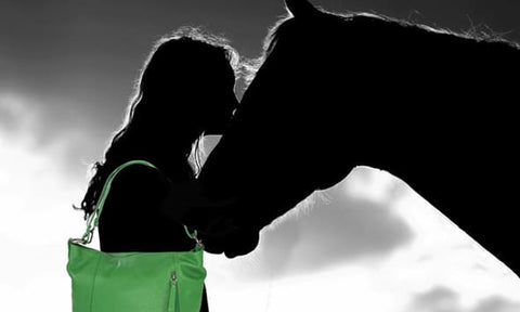 Amazzone Handbag. Dedicated to the Horse and their elegance.