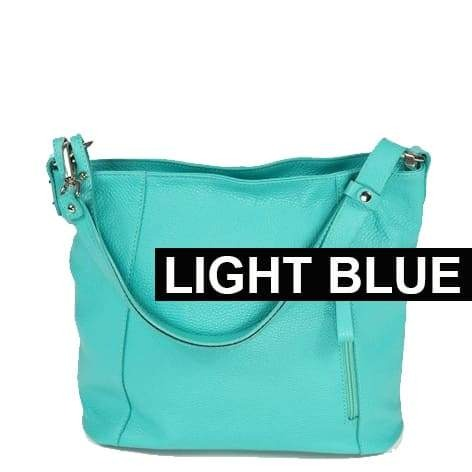 Amazzone Handbag LIght Blue Color
