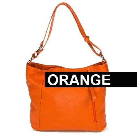 Amazzone Handbag Orange Color