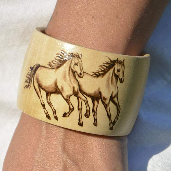 Two Horses Bracelet 5 clubcavalloitalia-shop.it