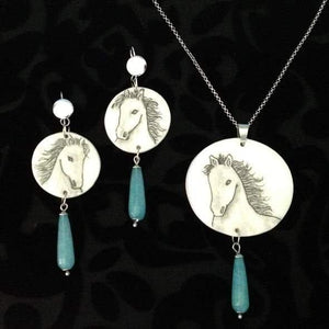 White Horse Parure clubcavalloitalia-shop.it