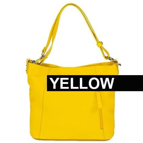 Amazzone Handbag Yellow Color