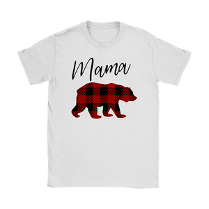 Plaid Mama Bear T-Shirt