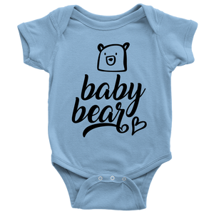 Cute Baby Bear Bodysuit