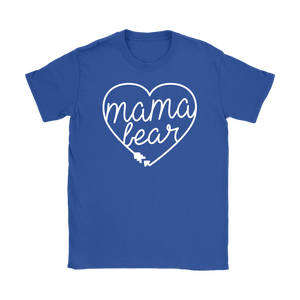 Mama Bear Heart T-Shirt