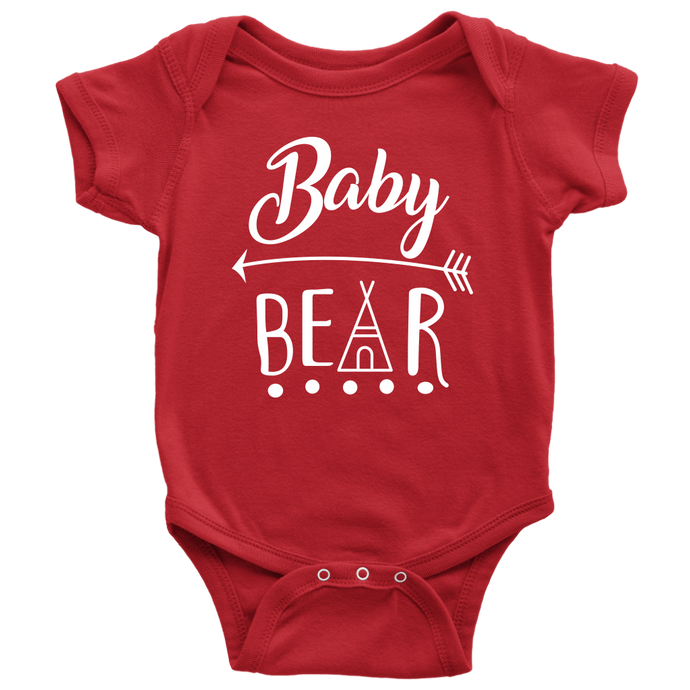 Baby Bear Hut Bodysuit