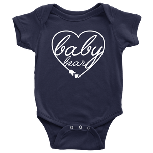 Baby Bear Heart Bodysuit