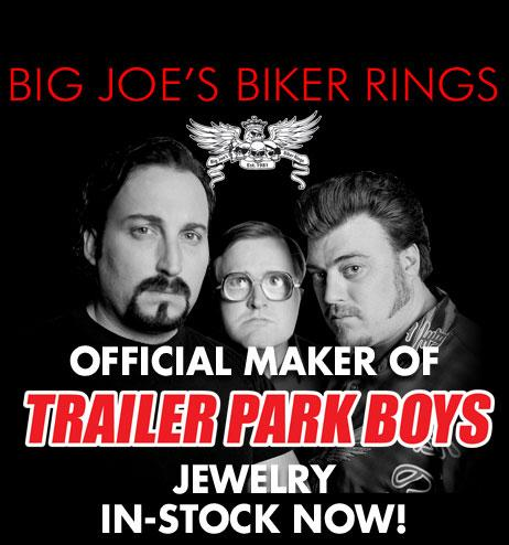 Trailer Park Boys Jewelry - Big Joe's Biker Rings