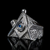 Classic Masonic G Ring (Freemasonry) - Ring - Big Joes Biker Rings