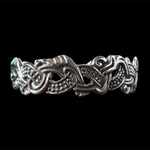 Norse / Viking Dragon Bracelet - Bracelet - Big Joes Biker Rings