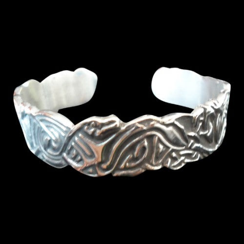 Norse / Viking Sea Monster Bracelet - Bracelet - Big Joes Biker Rings