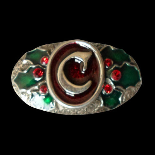Mrs Claus Costume Jewelry Pewter Brooch - Brooch - Big Joes Biker Rings