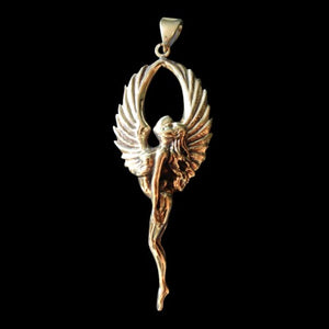 Rapture Angel Pendant - Pendant - Big Joes Biker Rings