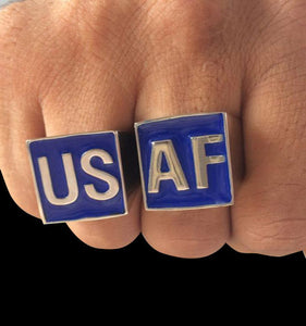 USAF Ring Set - Ring - Big Joes Biker Rings