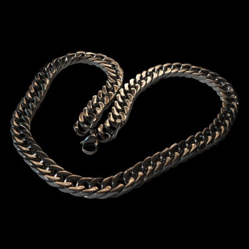 Curb Chain Stainless Steel Necklace - Chain - Big Joes Biker Rings
