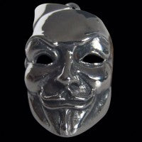 Guy Fawkes Mask Pendant - Pendant - Big Joes Biker Rings
