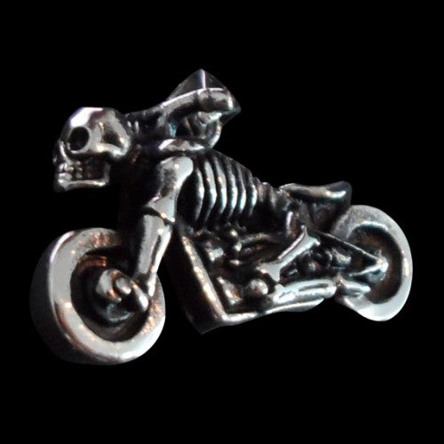 Ghost Rider Stainless Steel Pendant - Pendant - Big Joes Biker Rings