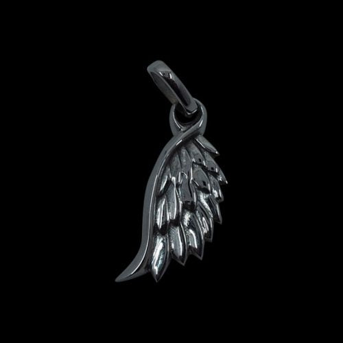 Angel Wing Small Pendant - Clearance - Big Joes Biker Rings