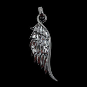 Angel Wing Large Pendant - Clearance - Big Joes Biker Rings
