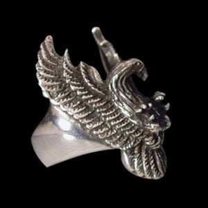 American Spirit Eagle Ring - Ring - Big Joes Biker Rings