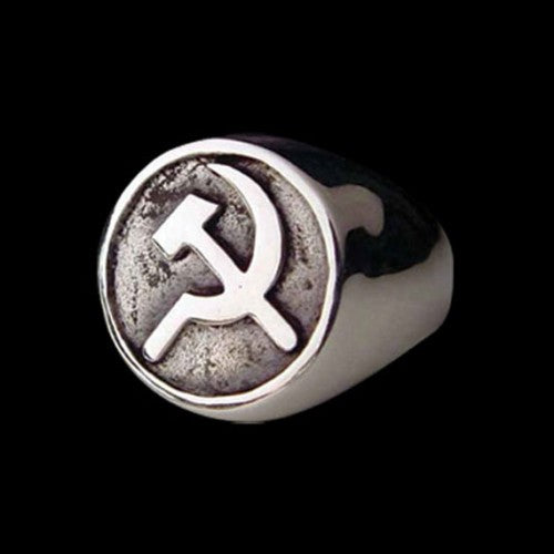 Soviet Union Cold War Ring - Ring - Big Joes Biker Rings