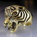 Bengal Tiger Ring - Ring - Big Joes Biker Rings