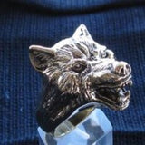 Wolf Ring - Ring - Big Joes Biker Rings