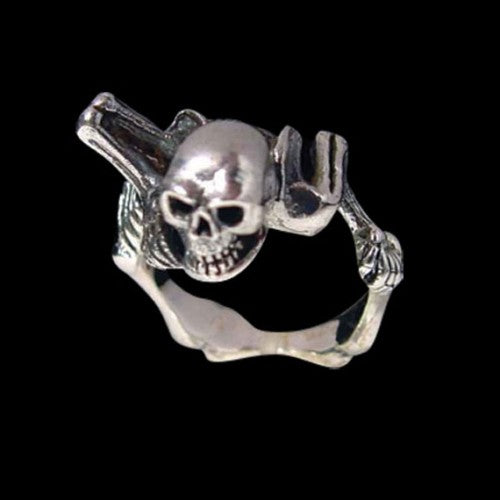 Mr Bones Skeleton Ring - Ring - Big Joes Biker Rings