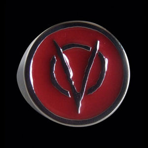 V for Vendetta Ring - Ring - Big Joes Biker Rings