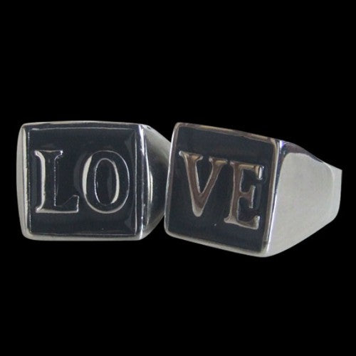 LOVE Ring Set - Ring - Big Joes Biker Rings