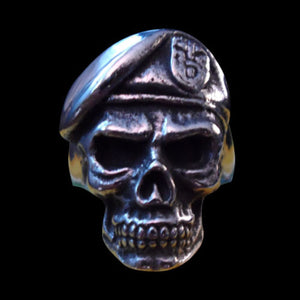 Special Forces Skull Ring - Ring - Big Joes Biker Rings