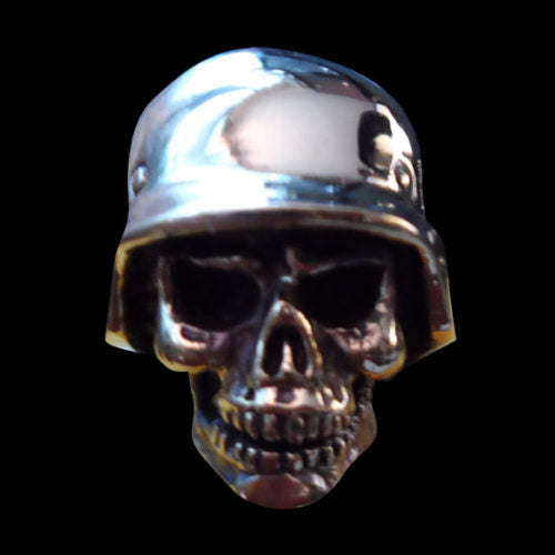 Ghost of the Western Front Skull Ring - Ring - Big Joes Biker Rings