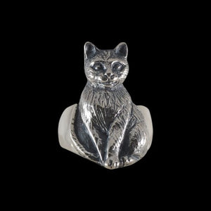 Bastet Cat Goddess Ring - Ring - Big Joes Biker Rings