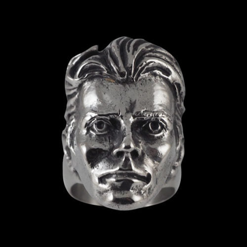 David Bowie Tribute Ring - Ring - Big Joes Biker Rings