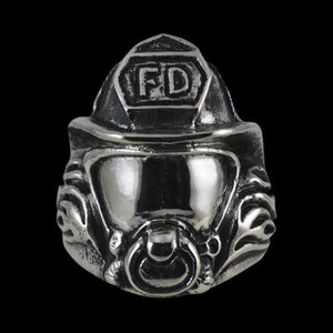 Fire Fighter / Fireman Ring - Ring - Big Joes Biker Rings