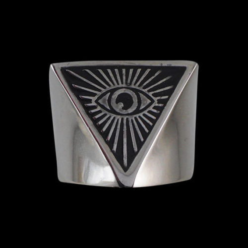 Eye of Providence Ring - Ring - Big Joes Biker Rings
