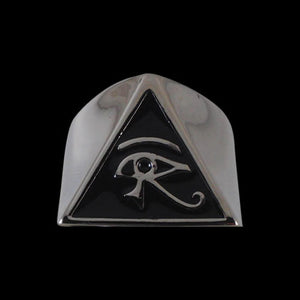 Egyptian Eye of Horus Ring - Ring - Big Joes Biker Rings