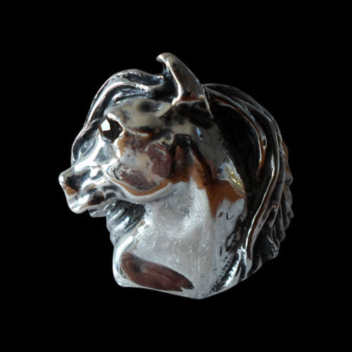 Friesian Stallion Ring - Ring - Big Joes Biker Rings