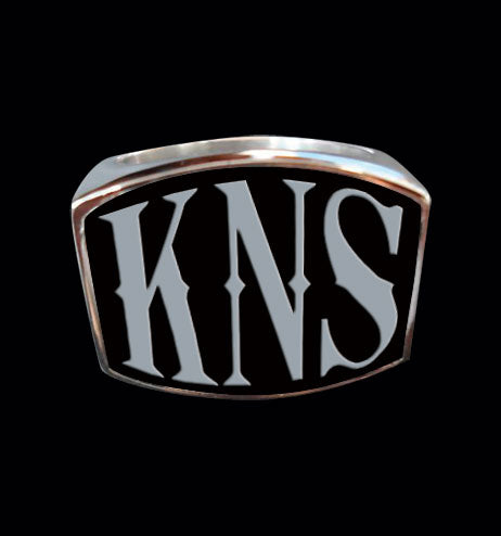 KNS 3-Letter Ring - Ring - Big Joes Biker Rings