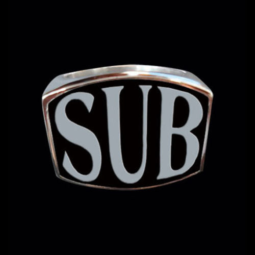 SUB 3-Letter Ring - Ring - Big Joes Biker Rings
