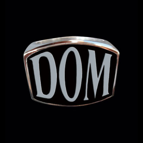 DOM 3-Letter Ring - Ring - Big Joes Biker Rings