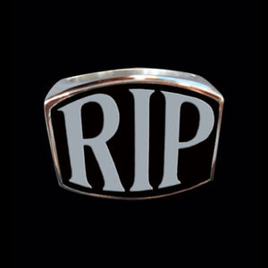 RIP 3-Letter Ring - Ring - Big Joes Biker Rings