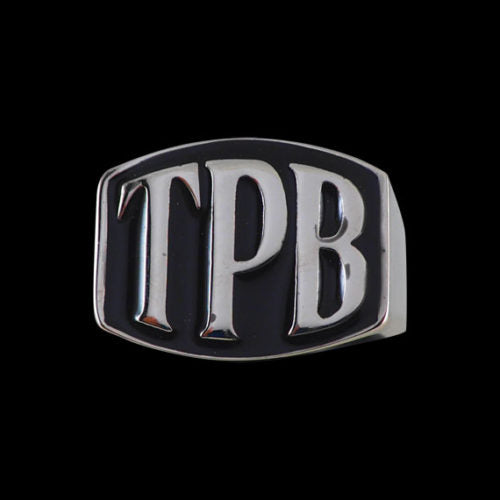 TPB 3-Letter Ring - Ring - Big Joes Biker Rings