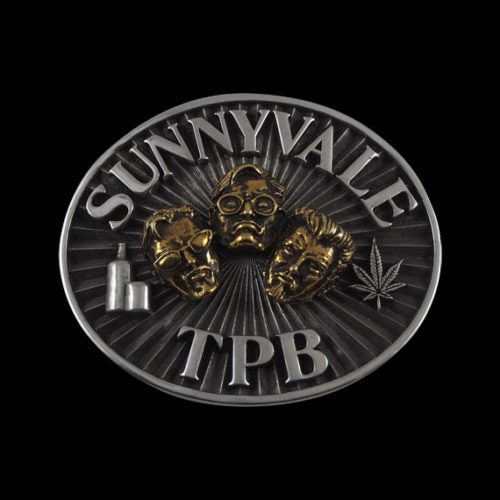 Sunnyvale Trailer Park Boys Bi Metallic Belt Buckle - Belt Buckle - Big Joes Biker Rings