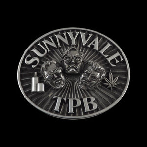Sunnyvale Trailer Park Boys Pewter Belt Buckle - Belt Buckle - Big Joes Biker Rings
