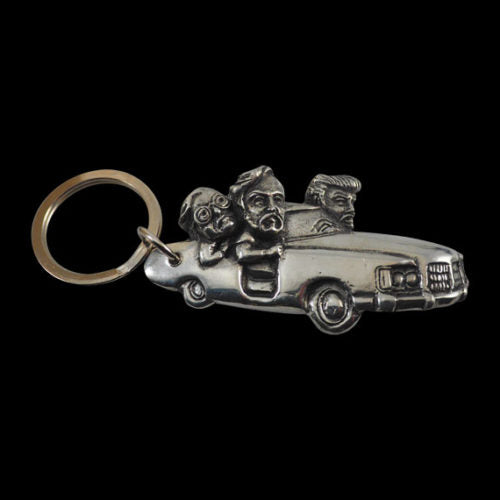 Sh*tmobile Pewter Keychain - Key Chain - Big Joes Biker Rings