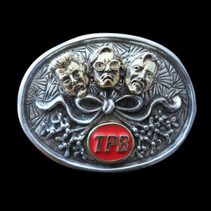 Mistletoe Christmas Trailer Park Boys Bi Metallic Belt Buckle - Belt Buckle - Big Joes Biker Rings