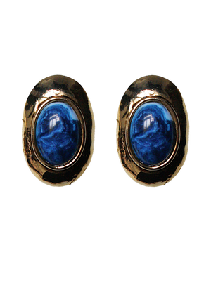 ODETA vintage clip earrings