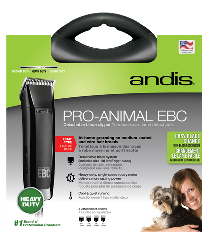Andis Pro-Animal EBC Detachable Blade Clippers