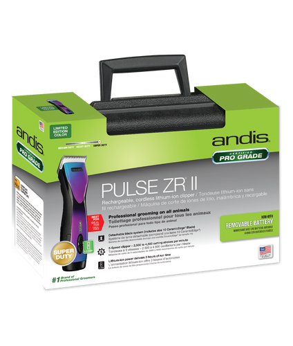 Andis Pulse ZR II Purple Galaxy Detachable Blade Clipper